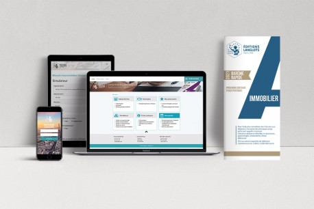 PRECOMMANDE EDITION 2021 - BAREMES RAPIDE IMMOBILIER + UN ACCES WEB ET APPLI